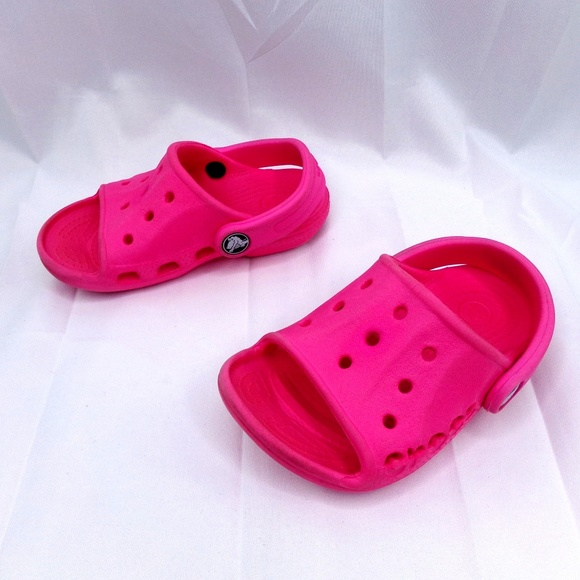 d5ef96b91a0f CROCS Other - Crocs Girls Slide Sandals Toddler size 6 - 7